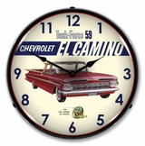 LED Lighted 1959 El Camino Clock