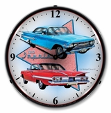 LED Lighted 1960 Impala Clock