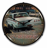 LED Lighted 1962 Chevrolet Impala Clock