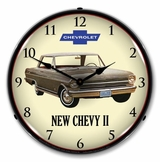 LED Lighted 1962 Chevy II Nova Clock