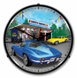 LED Lighted 1963 Corvette Clock