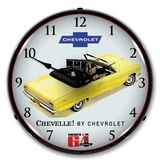LED Lighted 1964  Chevelle Convertible Clock