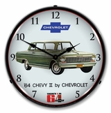 LED Lighted 1964 Chevy II Nova Clock