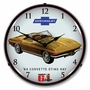 LED Lighted 1964 Corvette Sting Ray Clock