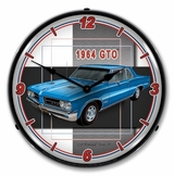 LED Lighted 1964 GTO Clock