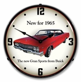 LED Lighted 1965 Buick GS Clock