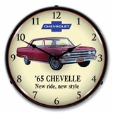 LED Lighted 1965 Chevelle Clock