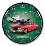 LED Lighted 1965 Chevelle Malibu SS Clock