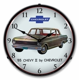 LED Lighted 1965 Chevy II Nova Clock