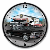 LED Lighted 1966 Chevelle Clock