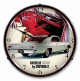 LED Lighted 1966 Chevelle SS 396 RI Clock
