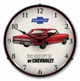 LED Lighted 1966 Chevy II Nova Super Sport Clock