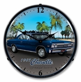 LED Lighted 1967 Chevelle Clock