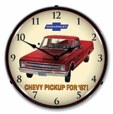 LED Lighted 1967 Chevrolet Pickup Clock