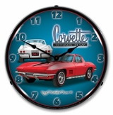 LED Lighted 1967 Corvette Stingray Clock