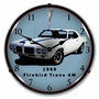 LED Lighted 1969 Firebird Trans Am Clock