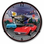 LED Lighted 1968 Corvette Clock