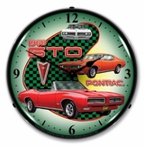 LED Lighted 1968 Pontiac GTO Clock