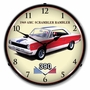 LED Lighted 1969 AMC Rambler Clock