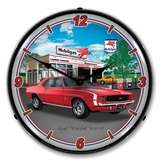 LED Lighted 1969 RS SS Camaro Mobil Clock