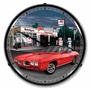 LED Lighted 1970 GTO Mobilegas Clock