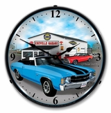 LED Lighted 1971 Chevelle Clock