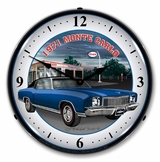 LED Lighted 1971 Monte Carlo Clock