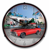 LED Lighted 1971 SS Chevelle Clock