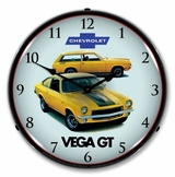 LED Lighted 1971 Vega GT Clock