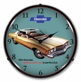 LED Lighted 1973 Monte Carlo Clock