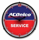 LED Lighted ACDelco Service Clock
