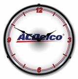 LED Lighted ACDelco WT Clock