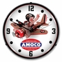 LED Lighted Amoco Aviation Clock