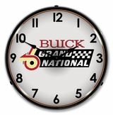 LED Lighted Buick Grand National logo Clock