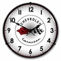 LED Lighted C1 Corvette Clock