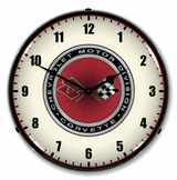 LED Lighted C3 Corvette 68-82 Clock