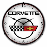 LED Lighted C4 Corvette 2 Clock