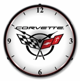 LED Lighted C5 Corvette 2 Clock