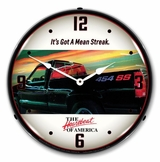 LED Lighted Chevrolet 454 SS Truck Clock