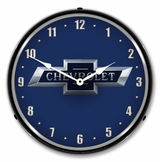 LED Lighted Chevrolet Bowtie 100th Anniversary Clock
