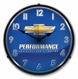 LED Lighted Chevrolet Performance Clock