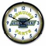 LED Lighted Chevy Parts Vintage Clock