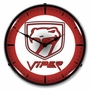 LED Lighted Dodge Viper Clock