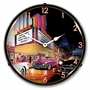 LED Lighted Esquire Theatre Clock