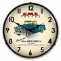 LED Lighted GMC Trucks 1956 Clock