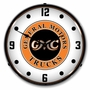 LED Lighted GMC Trucks Vintage Clock