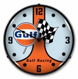 LED Lighted Gulf Racing GT40 Clock