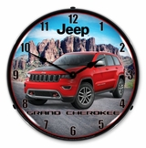 LED Lighted Jeep Grand Cherokee Clock