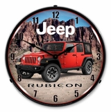 LED Lighted Jeep Rubicon Clock