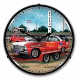 LED Lighted Jenkins 1966 Nova Clock